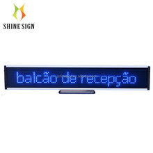 led bar running moving scrolling message text display board