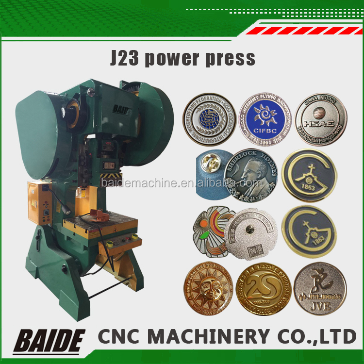 J23 series open tilting power press/J23 C Type Inclinable Power Press,punch press machine for aluminum, punching machine