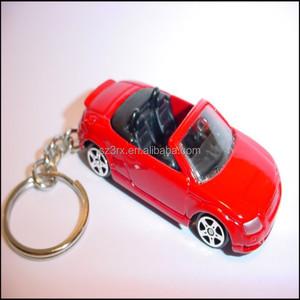 3D mini custom sport car shaped keychain,cute mini sport car shaped  keychain,cute 3D sport car shaped keychain
