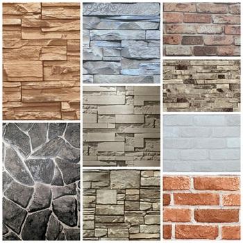 Vinyle Mur Décoratif 3d Brique Papier Peint Buy Conception De
