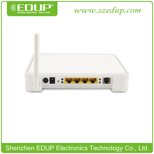54Mbps 802.11B/G Wireless ADSL Modem Router with 4LAN Ports + 1Wan Port
