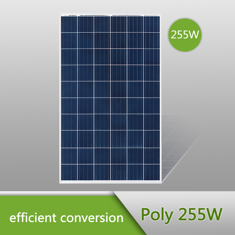 High quality poly solar panel, poly solar modules 255W