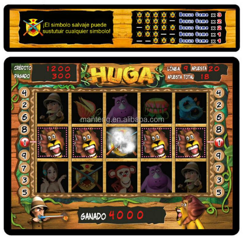 2014 Hot Sale Huga And Queen Of Nile Pcb Game Board/astro Aristocrat ...