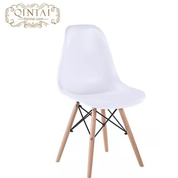 Remarkable Wholesale Cheap Scandinavian Look Nordic Style Pretty Plastic And Wood Living Room White Chair Buy Plastic Chair Hotel Chair Garden Chair Product On Theyellowbook Wood Chair Design Ideas Theyellowbookinfo