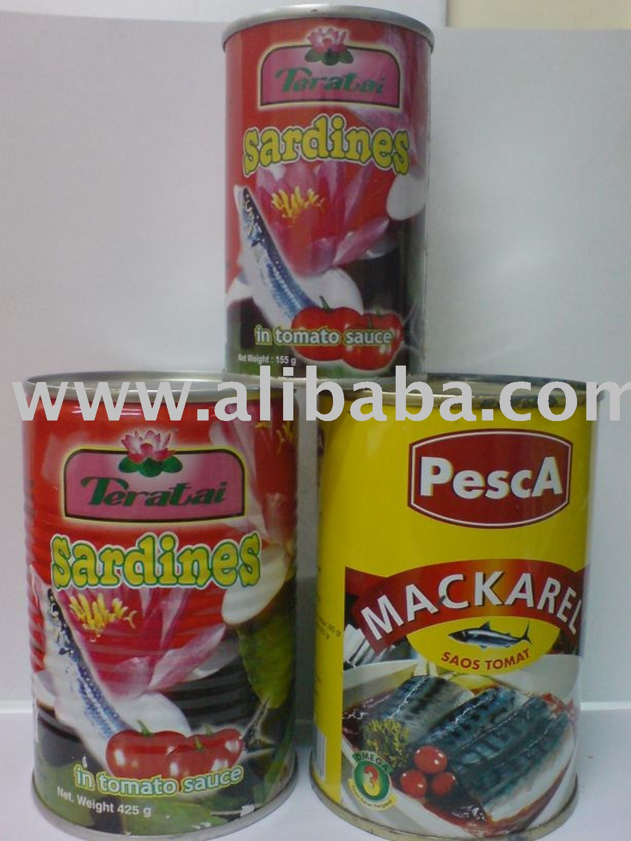 Canned Mackerel/Sardines in Tomato Sauce