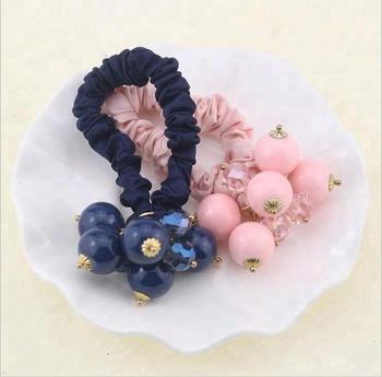 Four Cute Little Plastic Flowers Hair Accessories Set Headdress Barrette  Clips Pins Elastics Rope Bands for b7b6590f4ba