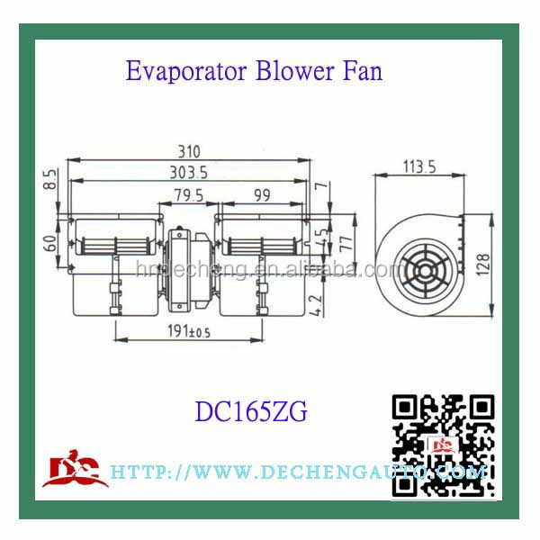 Evaporator Fan 12/24 Volt,Chinese Wholesale Suppliers Bus Vehicle ...