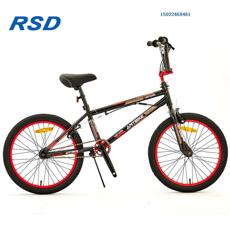 Good quality Mini bmx bicycle in steel frame and fork for jump/Wholesale 20inch best steel material bmx freestyle bike
