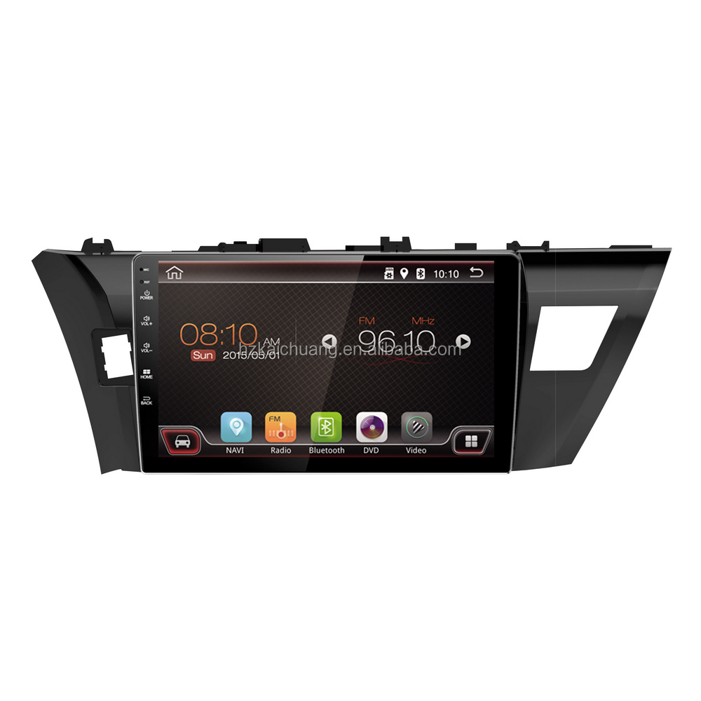 10.1 inch <strong>Android</strong> 6.0 Car Radio Toyota Corolla support GPS Colorful LED SWC and more functions