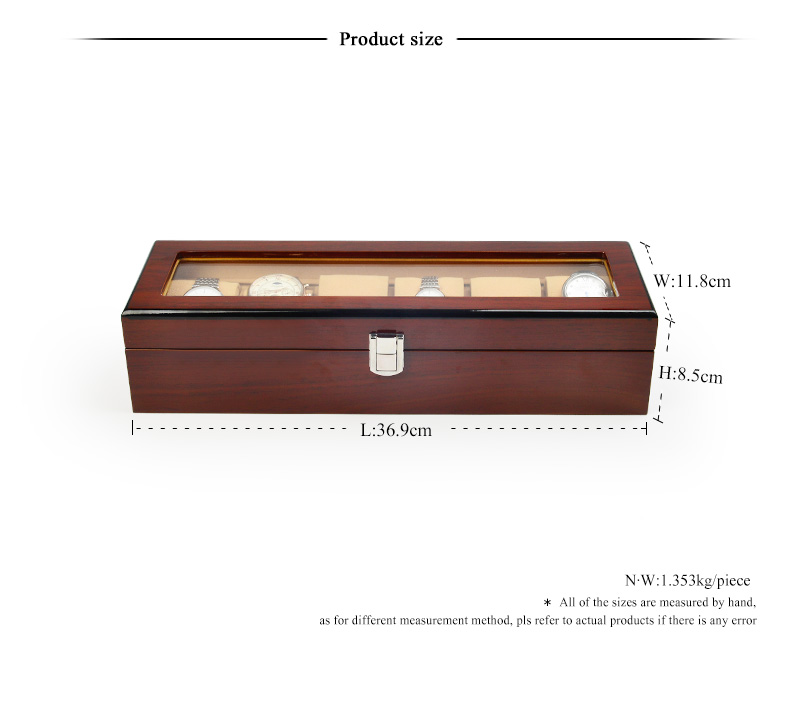 FANXI Custom watch Packaging Box For Bracelet Bangle Jewelry Storage Drawer Watch Packing Box