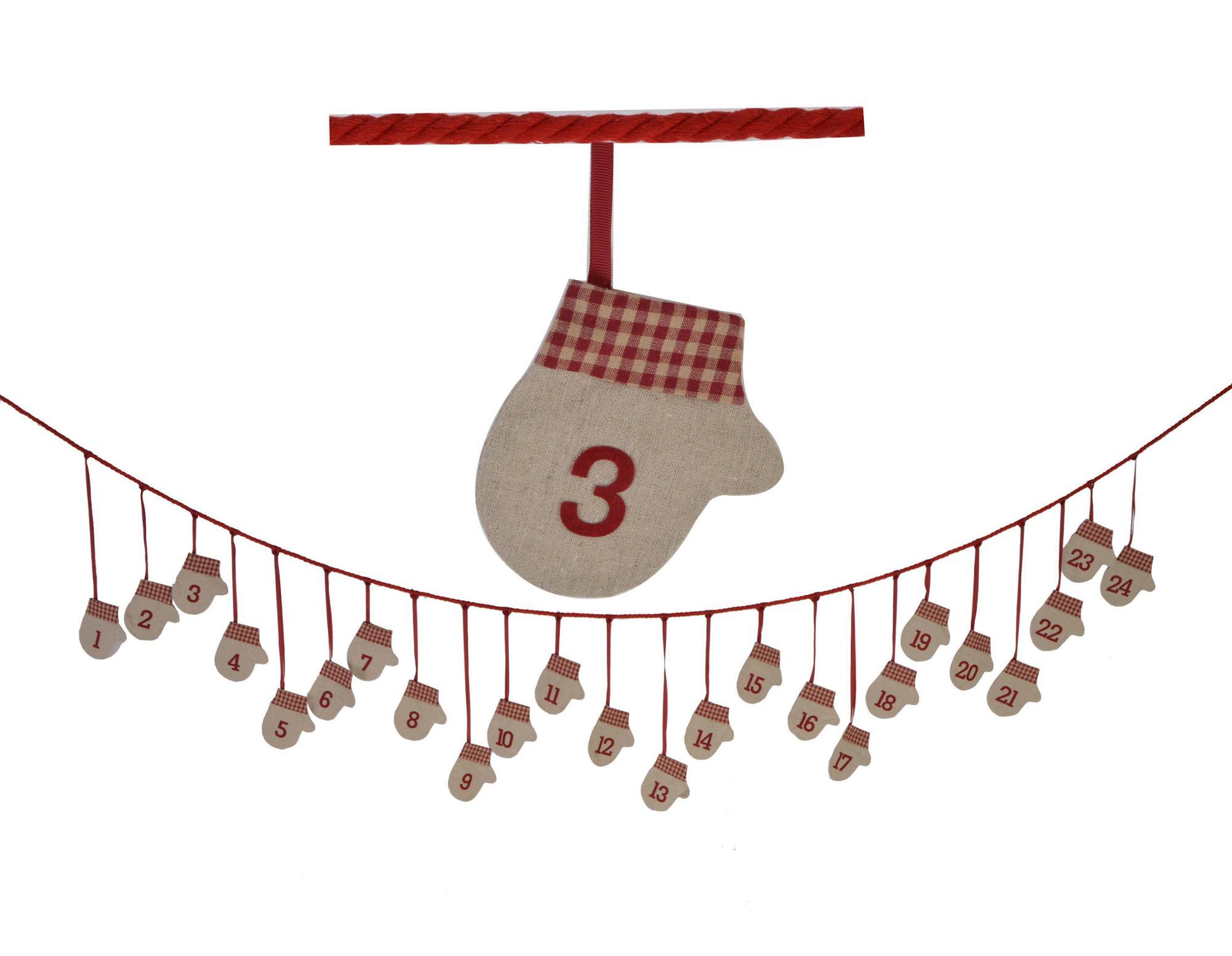 Calendario Conto Alla Rovescia.Tessuto Feltro Guanti Di Natale Conto Alla Rovescia Avvento Calendario Ghirlanda Di Natale Decorazioni Per La Casa Buy Natale Conto Alla Rovescia
