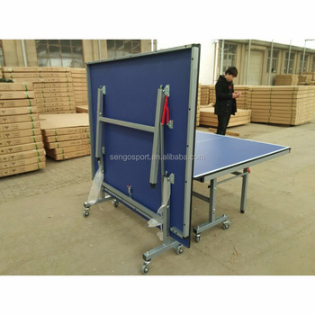e92557a7d Profissional Portátil dobrável perna mesa de ping pong champion sports  conjunto de ténis de mesa em