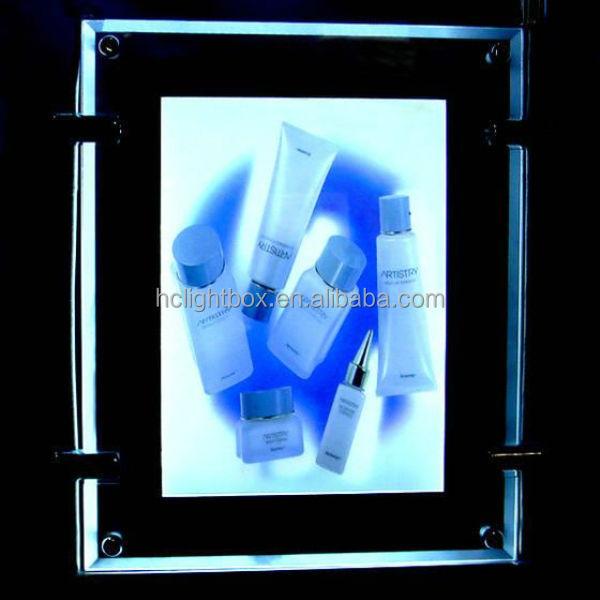 Hot Sale! Christmas Light Show Box Christmas Hanging Frame Crystal ...