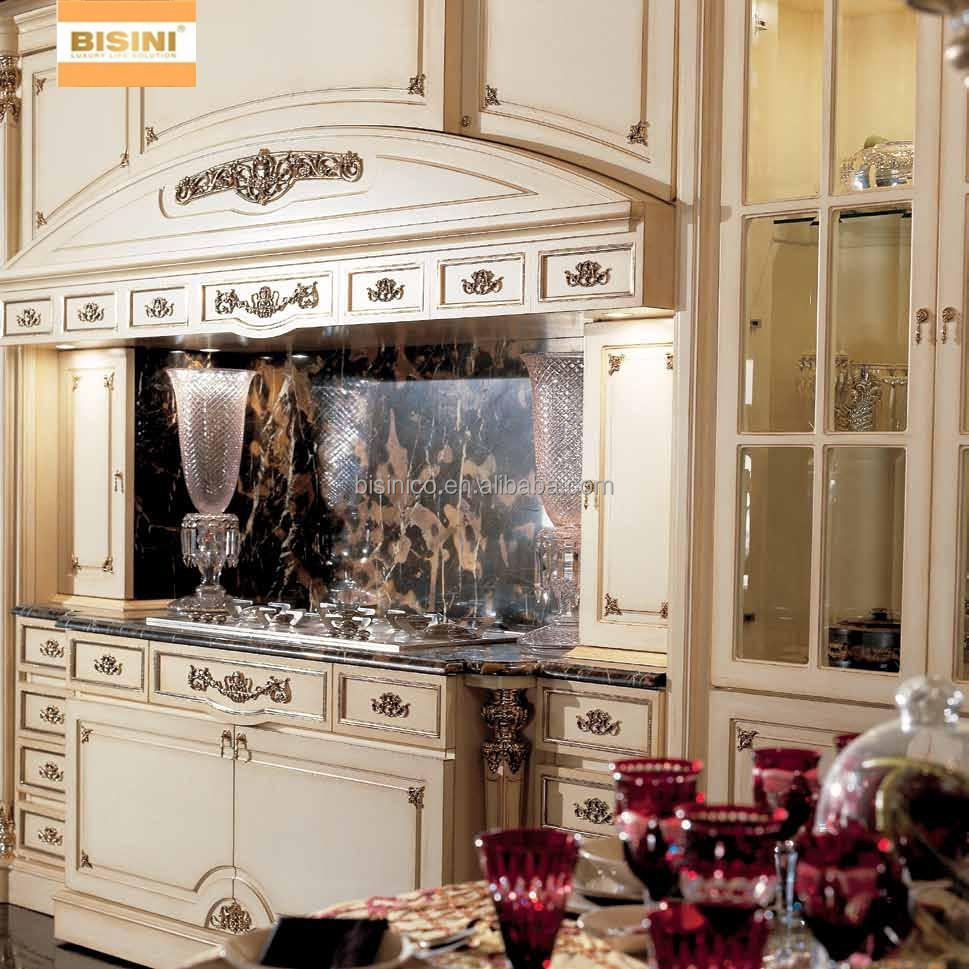 viktorianischen stil aus holz k chenschrank exquisite handgeschnitzt k che wandschrank edles. Black Bedroom Furniture Sets. Home Design Ideas