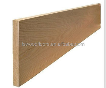 Unfinished White Oak Wood Stair Tread Wooden Stair Covering