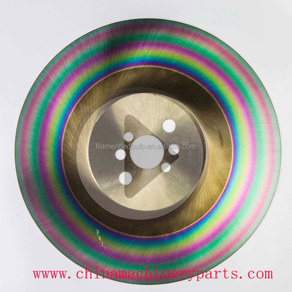 M42 DM05 saw blank High speed steel circular saw blade for stainless steel pipe cutting