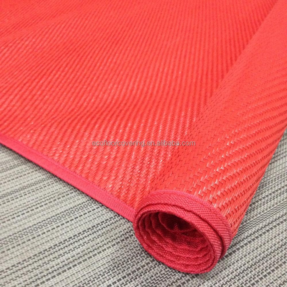 Woven Pvc Beach Mat Bbq Mat Doormat And Floor Mat