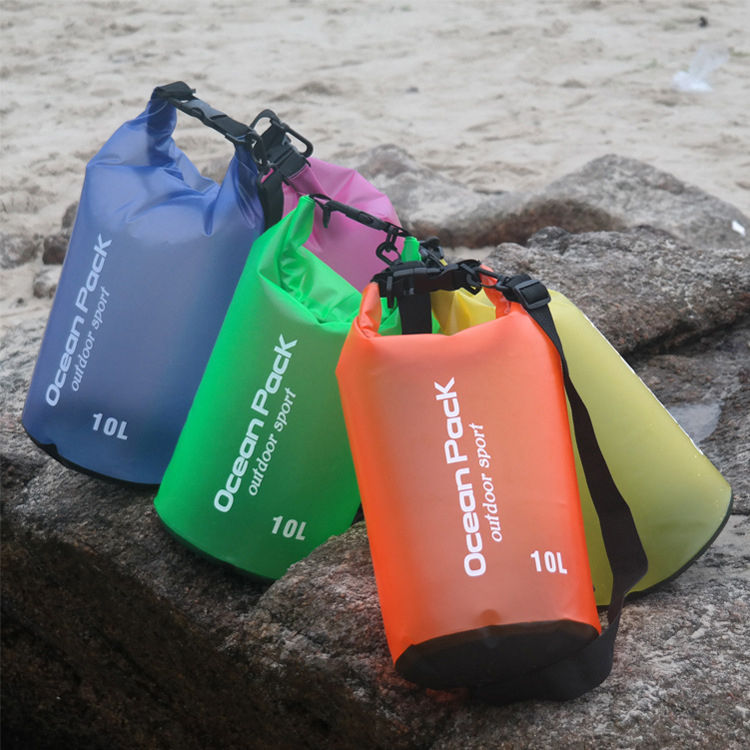 Outdoor Sports Waterprooof Bag PVC Dry Bags Cheap Custom Logo Ocean Pack Dry Bag
