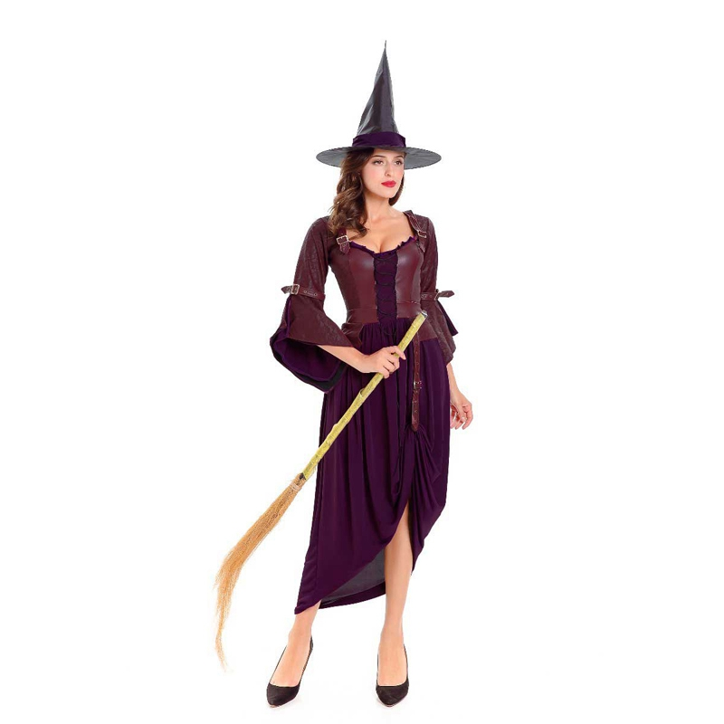 Halloween Voorleesverhaal.Salem Witch Wicked Evil Tovenares Paars Halloween Verhaal Boek Week Vrouwen Kostuum Buy Duivel Kostuum Duivel Kostuum Halloween Sexy Duivel Kostuum
