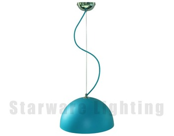 metal industrial pendant lights e27 socket fittings modern lamp cord