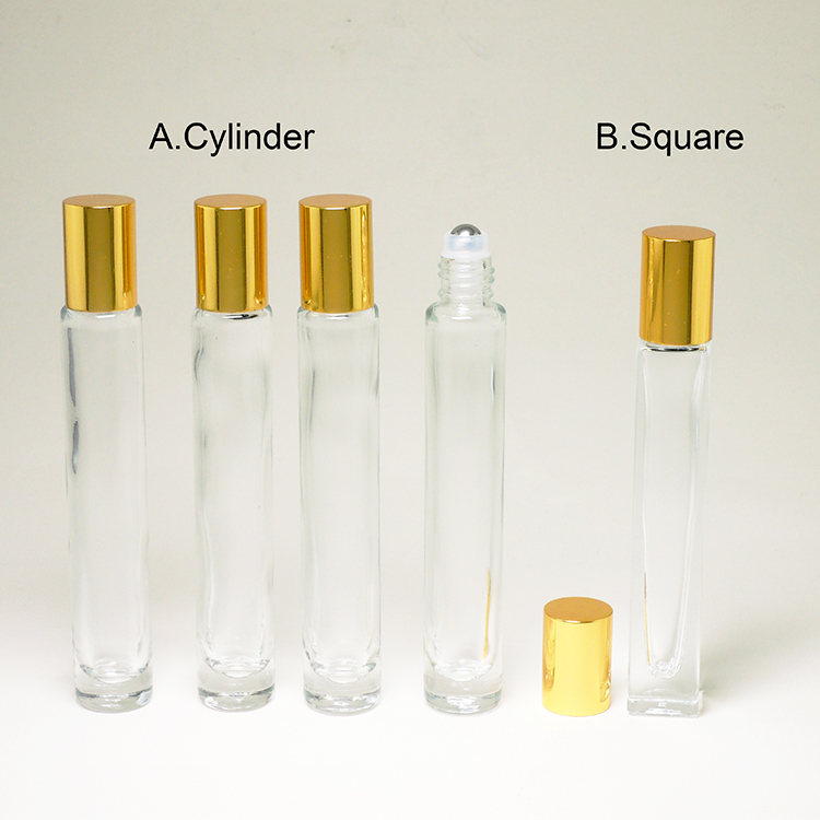 Make Up Packaging Precision Circular Small Glass Bottle