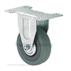 "2"" 2.5"" 3"" 4"" 5"" cheap lighted small grey rubber fixed caster wheels"