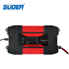 Suoer GEL 12 V 10A Intelligente Snelle Smart Lood-zuur <span class=keywords><strong>Rohs</strong></span> Acculader Met LED Display