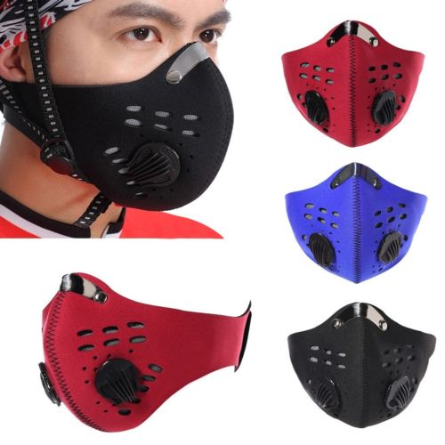 2016 Cycling Face Masks Ski Half Face Mask with Super Anti Dust Pollution Filter