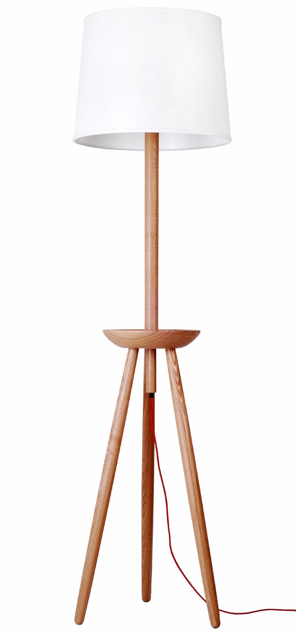 Modern Wood Floor Standing Lamp Tripod Floor Lamp Buy