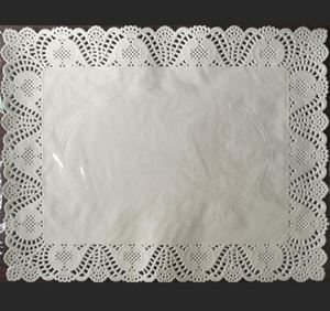 Good Quality Different Size Paper Doilies Placemate Rectangle Doilies Vintage Coasters