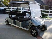 ezgo stretched six seat golf cart