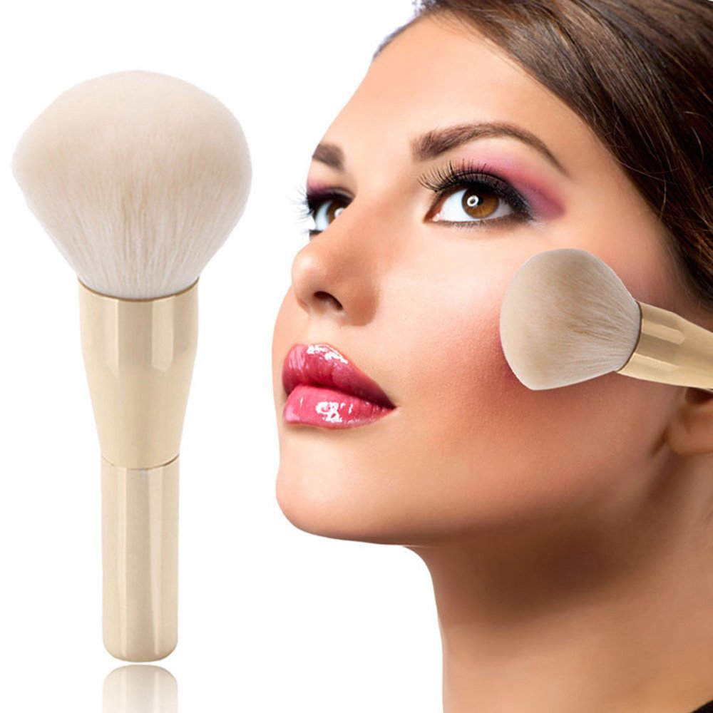 Aiweikang Hot Sale Facial Soft Makeup Brush Cosmetic Blush Powder Foundation