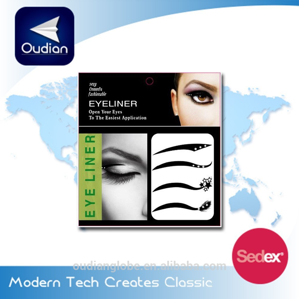 Oem Wholesale High Quality Eye Tattoo Strips / Eyeliner Temporary ...