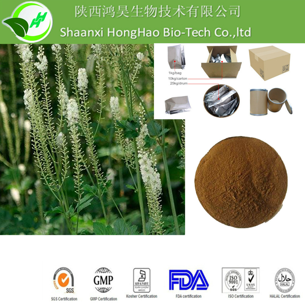 Natural Bulk 2.5%-8% Triterpene Glycosides Black Cohosh Root Powder