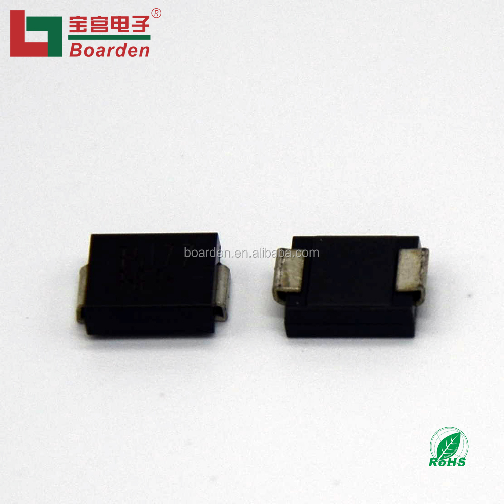 TVS DIODE 36.8V 59.3V DO214AC SMAJP4KE43A-TP Pack of 100
