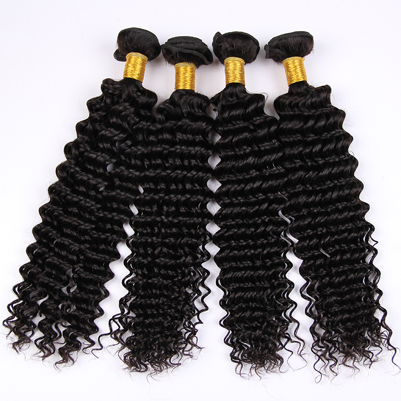 wholesale malaysia hair 100% human hair weaving deep wave extention bundles