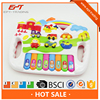 NEW Plastic cartoon B/O keyboard with intelligent function for kid