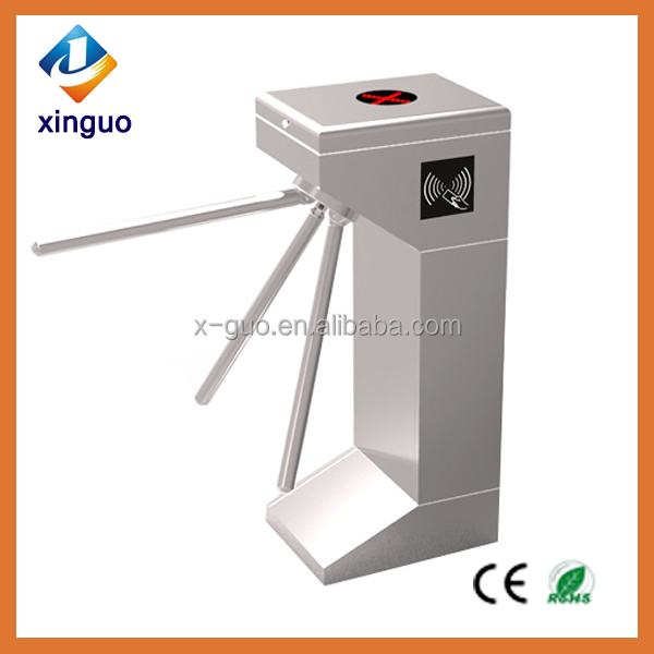 Security electronic services access control tripod torniquete/turnstile
