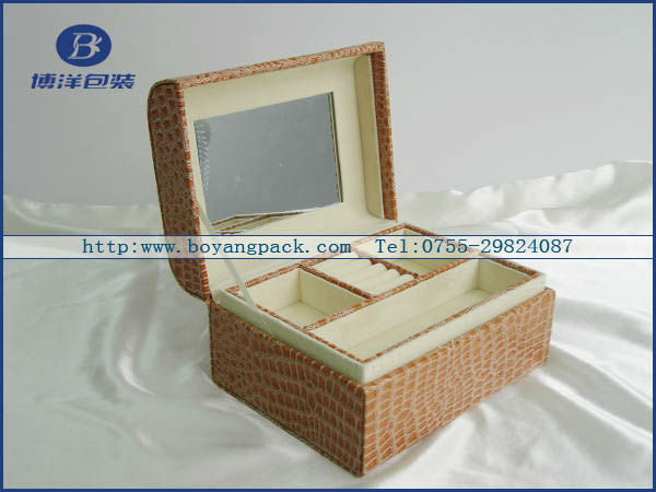 factory direct manufacturer cheap high end quality luxury 2012 cosmetics box new arrival design RoHS ISO:9001
