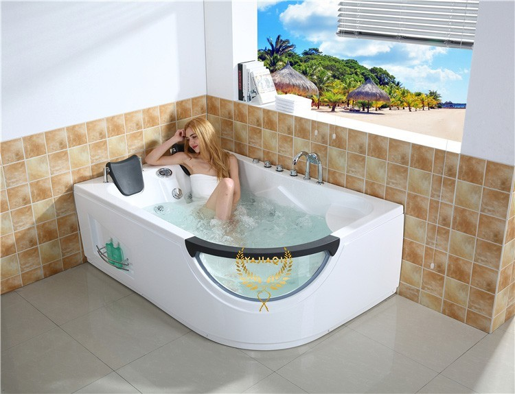 Freestanding whirlpool massage bathtub with air pump price for What is the best bathtub to buy