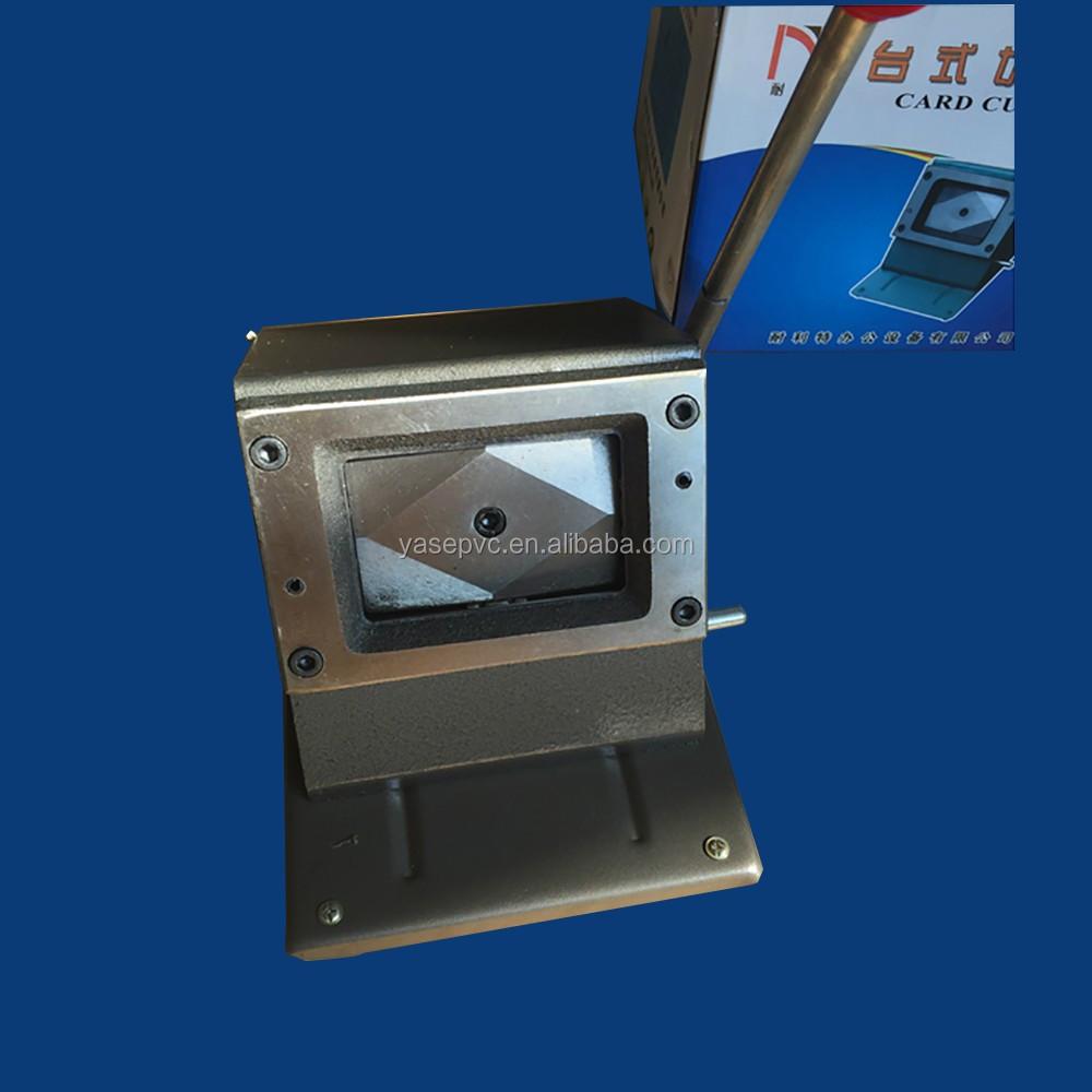 Pvc Plastic Card Cutting Machine Buy Pvc Plastic Card