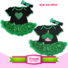 Baby cotton frocks designs print heart sequin pattern romper carters kids unique baby names picture Easter romper and headband