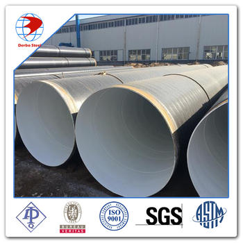 3pe Coated Api Spec 5l Psl1 X70 Lsaw Gas 16 Inch Pipe