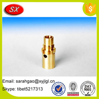 OEM Gold Plated Brass/Aluminum CNC Milling Machining Parts For Auto/Motor Spare Parts