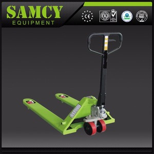 SAMCY China Professional Forklift Manufacture 1 Ton Pallet Truck