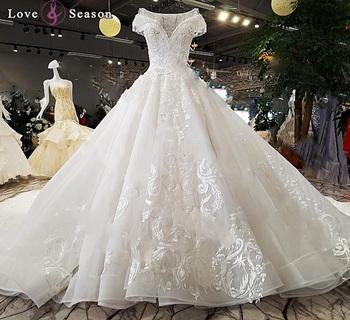 Ls98043 Jancember Vestido De Novia 2018 Collar Bola Vestido De Boda Vestidos De Novia Para Vestido De Nochemoda Boda Diseño Buy Vestido De Noiva