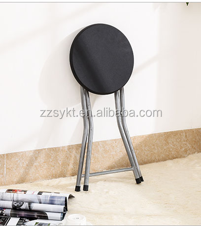 Super Sturdy Natural Wood Metal Steel Frame Round Wooden Seat Folding Stool Chairs Buy Wooden Folding Stool Small Round Folding Chair Used Metal Folding Ibusinesslaw Wood Chair Design Ideas Ibusinesslaworg
