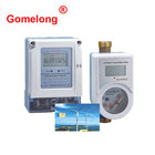 Wall Mounted Box Tap Flow Wireless Remote Reading Brass Prepaid Smart Digital Water Meter