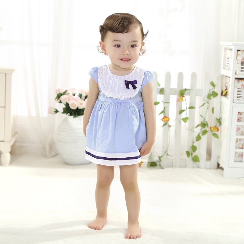 687e7b0f40 Get Quotations · 2015 Summer Style Designer Baby Girl Dress Children Denim  Dresses Kids Party Princess Clothes 1 Year