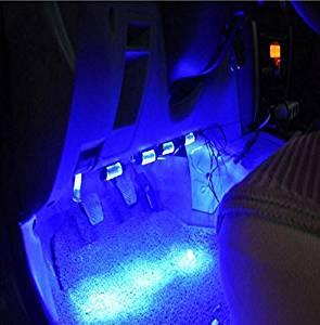 SOROPIN MD-Car Indoor Atmosphere Lights, Car Atmosphere Lights, Foot Lights, Car Blue Light Decorative Lights,Auto Car Decoration Lamp
